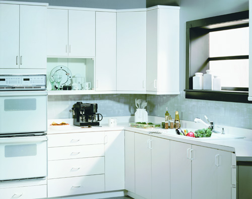 Marsh White Kitchen Cabinets